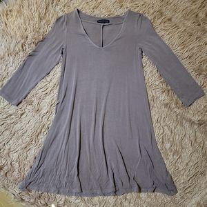 American Eagle Dusty Mauve Purple Ultra Soft Dress